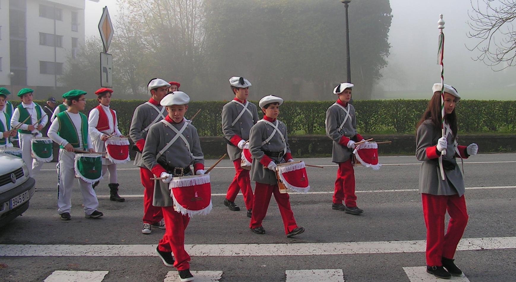 ZM Ormaiztegiko tamborrada