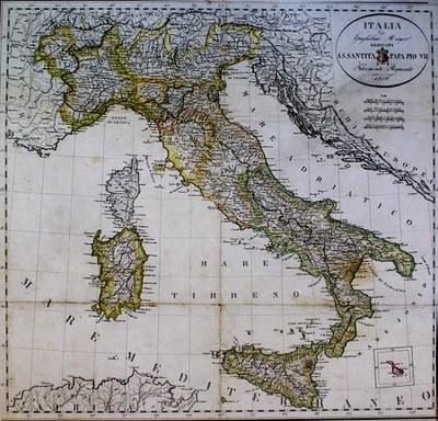 Mapa 1815
