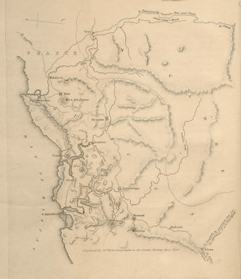 Mapa Evans