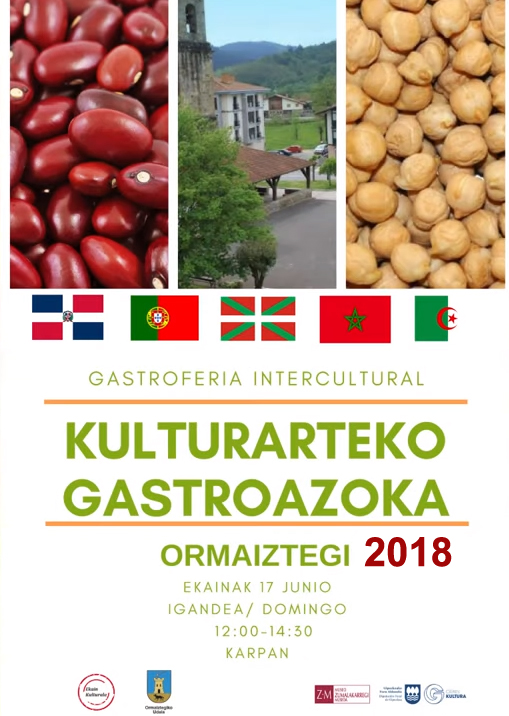 Ormaiztegiko Kulturarteko GastroAzokaren II.edizioa