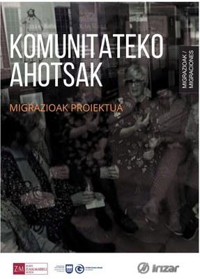 """""""Migrazioak"""" proiektua. Komunitateko ahotsak"""