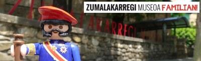 Zumalakarregi Museoa familian! foileto didaktikoa