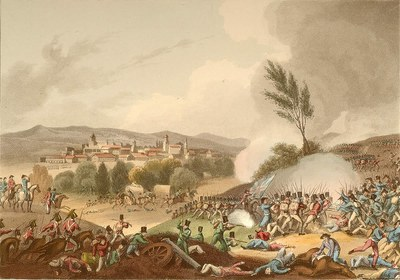 Tolosako bataila, 1813.go ekainak 25