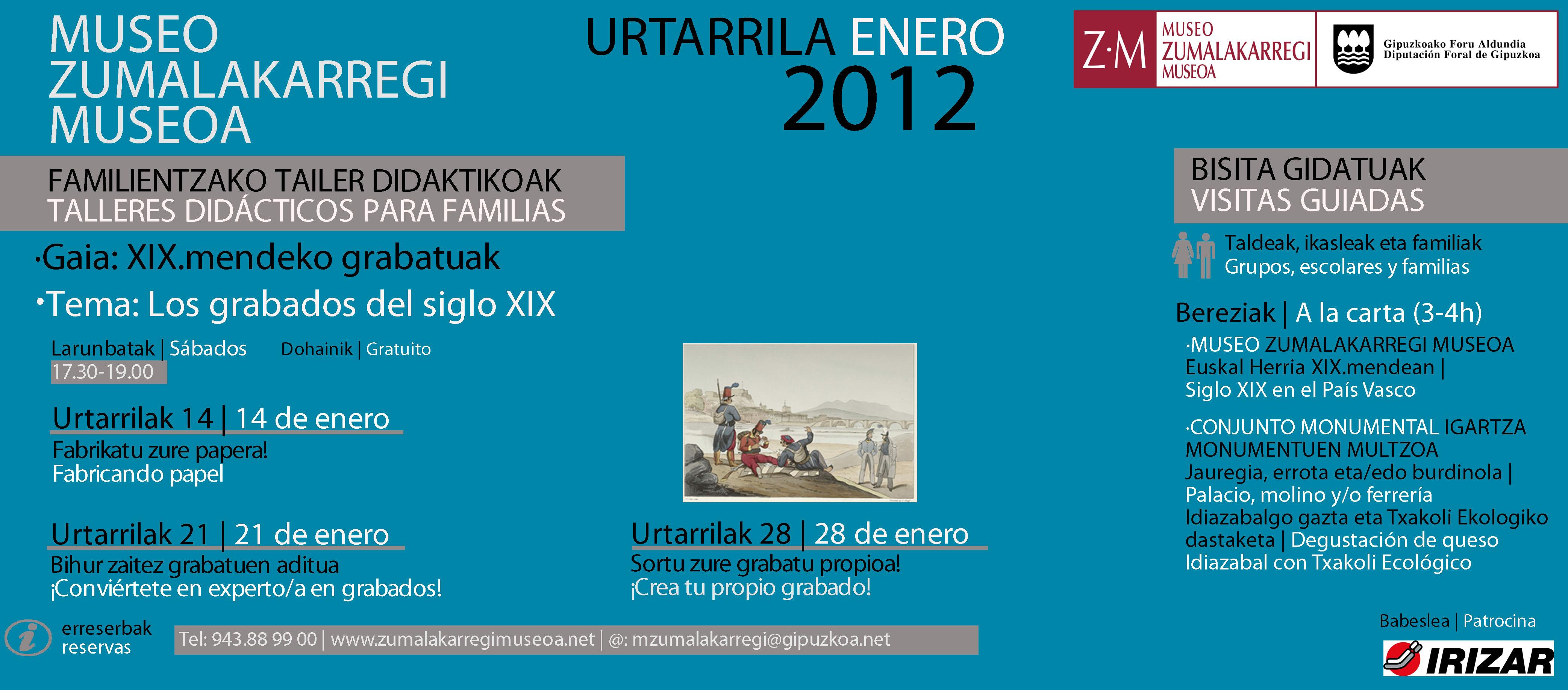 2012 Urtarrila