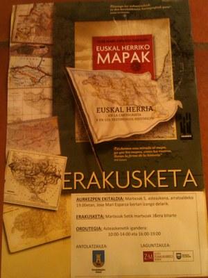ZM Euskal Herriko Mapak erakusketa