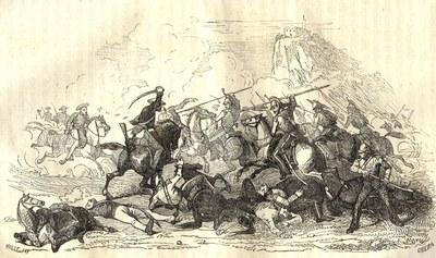 ZM. Batalla de Huesca. 1835