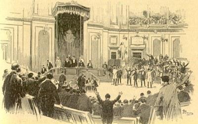 Estatu Liberalaren Sorrera-Parlamentariak
