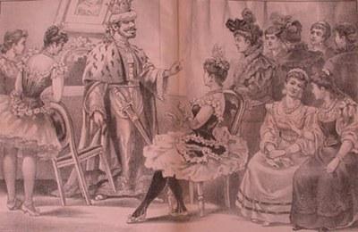 Carlos chapa despidiéndose de sus amigas para casarse nuevamente.